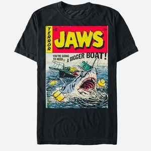 """JAWS """"We're gonna need a bigger boat"""" oversized T."""
